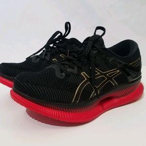 Asics MetaRide running shoe black and red